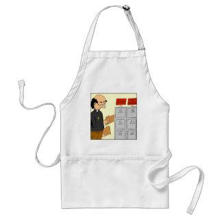 811 top sacred cartoon standard apron
