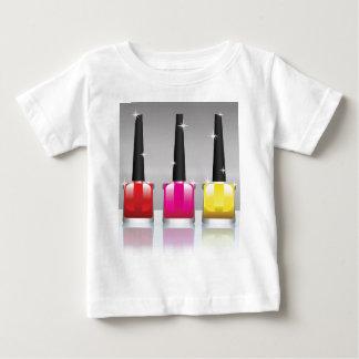 81Nail Polish Bottle_rasterized Baby T-Shirt