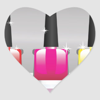 81Nail Polish Bottle_rasterized Heart Sticker