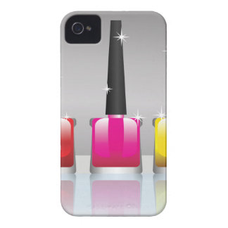 81Nail Polish Bottle_rasterized iPhone 4 Case