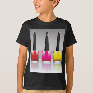 81Nail Polish Bottle_rasterized T-Shirt