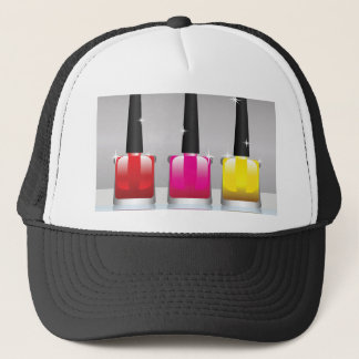 81Nail Polish Bottle_rasterized Trucker Hat
