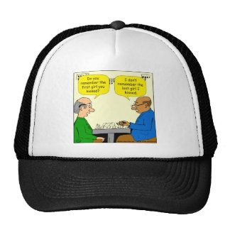 828 first girl you kissed cartoon cap
