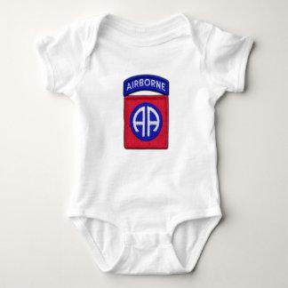82nd ABN Airborne Division Bragg Patch Baby Bodysuit