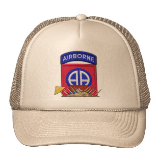 82nd ABN Airborne Division Vietnam War Vets Patch Cap