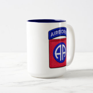 82nd ABN DIV Airborne Division Veterans Vets Two-Tone Coffee Mug