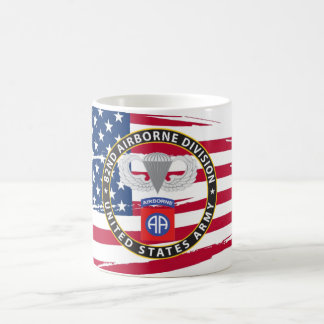 82nd Airborne Classic White Mug