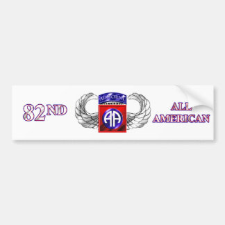 82nd Airborne Division All American Bumper Sticker