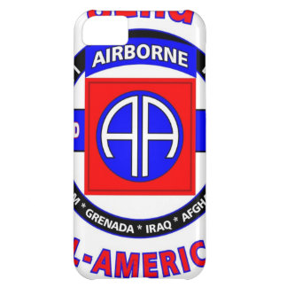 "82ND AIRBORNE DIVISION ""ALL AMERICAN"" DIVISION iPhone 5C CASE"
