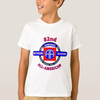 """82ND AIRBORNE DIVISION """"ALL AMERICAN"""" DIVISION T-Shirt"""