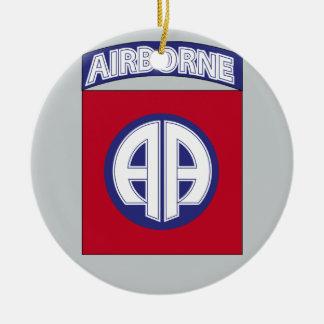 82nd Airborne Division - Combat Service Ceramic Ornament