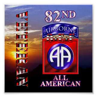 82nd Airborne Division OEF Veteran Poster
