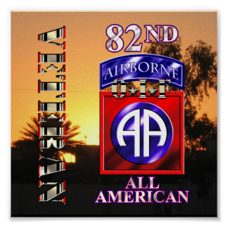 82nd Airborne Division OIF Veteran Poster