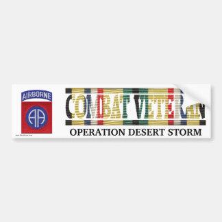 82nd Airborne Division SWA Combat Veteran Sticker