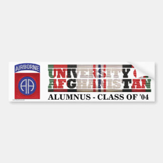 82nd Airborne Division U of Afghanistan Sticker