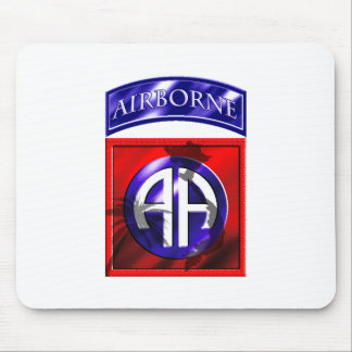 82nd Airborne Division Vietnam Veteran Mouse Pad