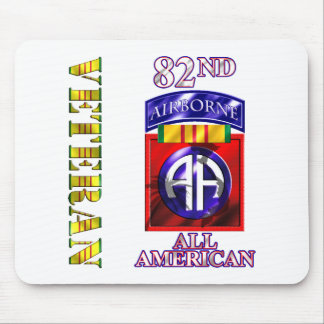 82nd Airborne Division Vietnam Veteran Mouse Pads