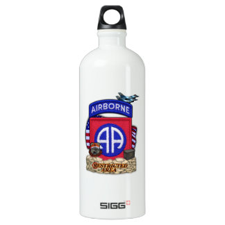 82nd airborne division war veterans vets water Bot SIGG Traveller 1.0L Water Bottle