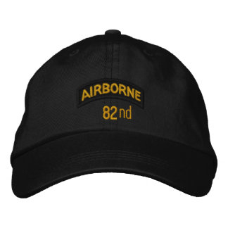 82nd Airborne Embroidered Hat