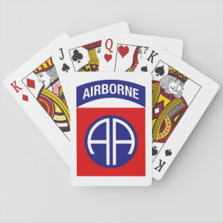 82nd airborne Playing cards