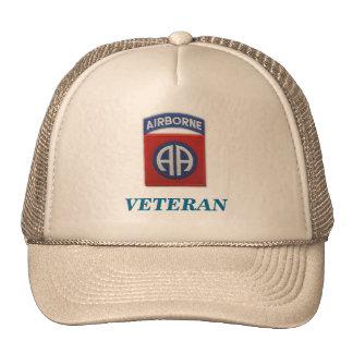 82nd airborne veteran unit flash iraq patch vietna cap