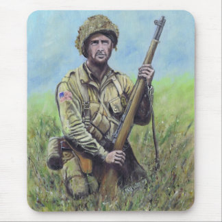 82nd Airborne WW2 mouse mat