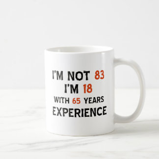 83rd cool birthday designs coffee mug