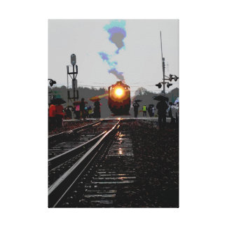 #844 Pauses Canvas Print