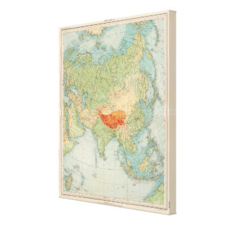 8485 Asia physical Stretched Canvas Prints