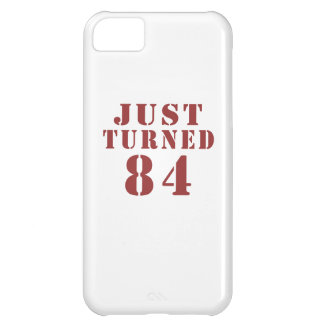 84 Just Turned Birthday iPhone 5C Case