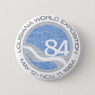 84 Worlds Fair 6 Cm Round Badge