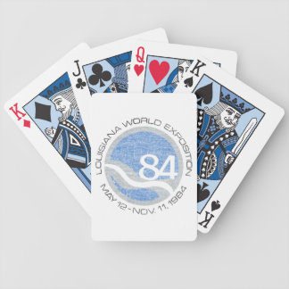 84 Worlds Fair Bicycle Playing Cards