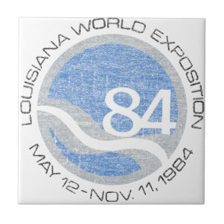 84 Worlds Fair Ceramic Tile
