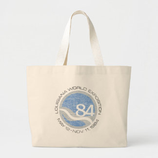 84 Worlds Fair Large Tote Bag