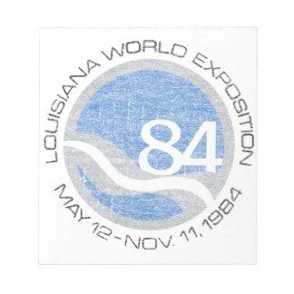 84 Worlds Fair Notepad