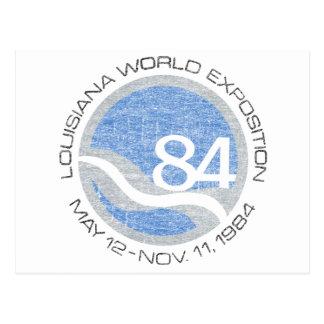 84 Worlds Fair Postcard