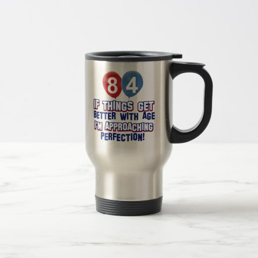 84th year old birthday gift mug