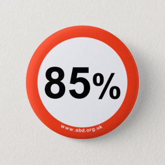 85% badge