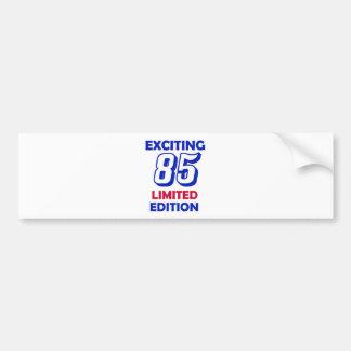 85 Birthday Design Bumper Sticker