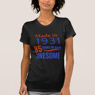 85 birthday design T-Shirt
