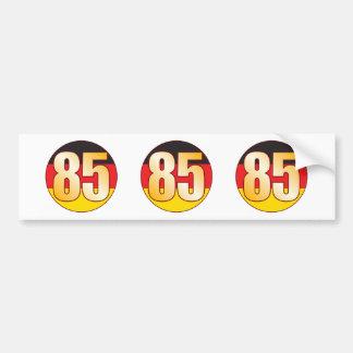 85 GERMANY Gold Bumper Sticker