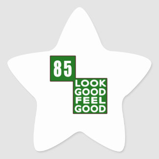85 Look Good Feel Good Star Stickers