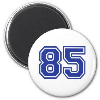 85 - number fridge magnet