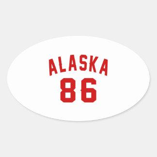 """""""85 year""""""""85 birthday gear""""""""85th""""""""85th birthday oval sticker"""