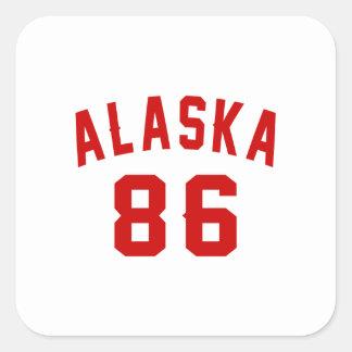 """""""85 year""""""""85 birthday gear""""""""85th""""""""85th birthday square sticker"""