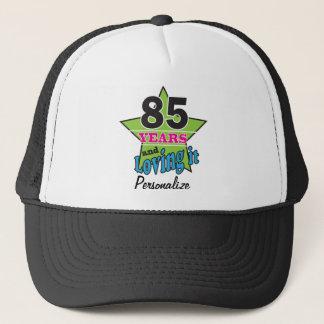 85 Years and Loving it | 85th Birthday | DIY Name Trucker Hat