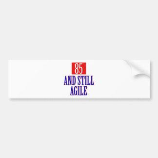 85 years birthday designs bumper sticker