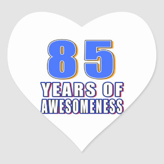 85 Years of Awesomeness Sticker