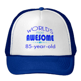 85th Birthday Celebration World's Best in Blue Cap