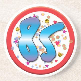 85th Birthday Coaster